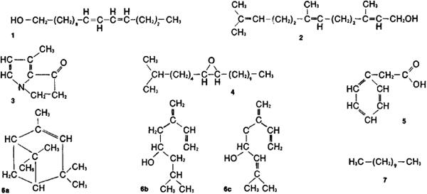 Fish pheromones formula